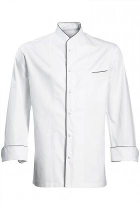 MERIBEL CHEF'S JACKET WHITE