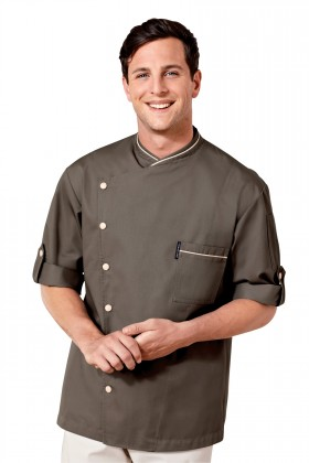 IPERO   BIB APRON   BROWN