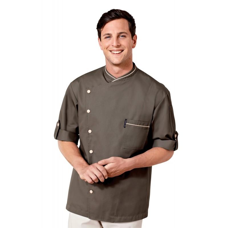 White apron pastry company - Ipero Bib Apron Brown