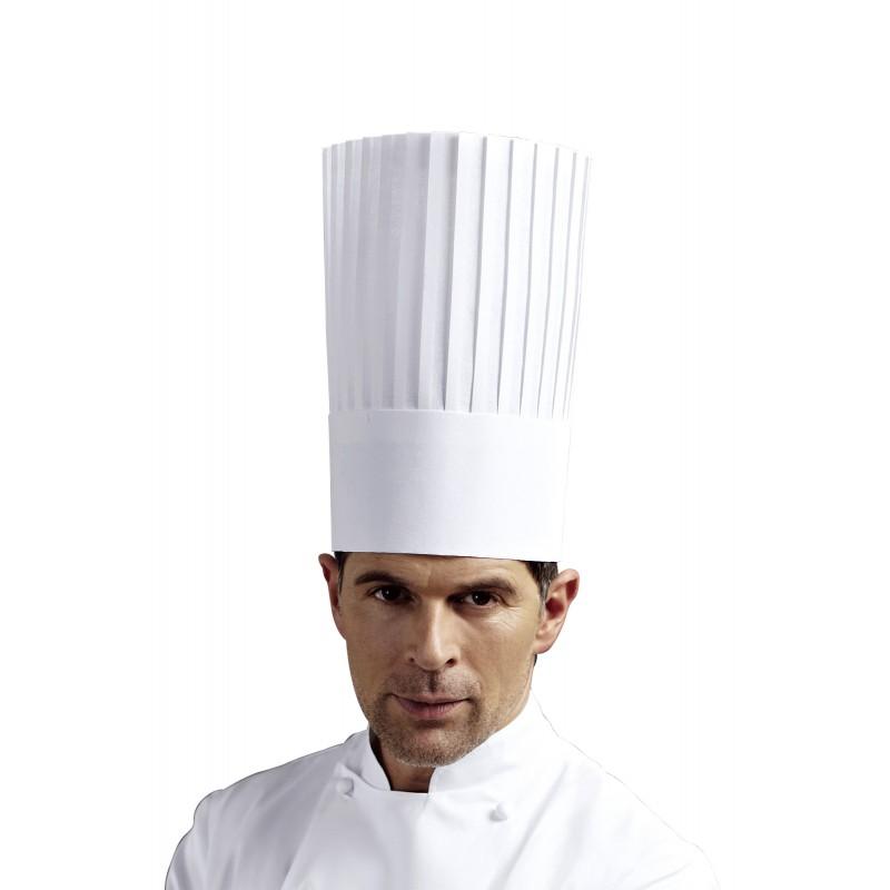 White housekeeping apron - Poulbot Bib Apron White